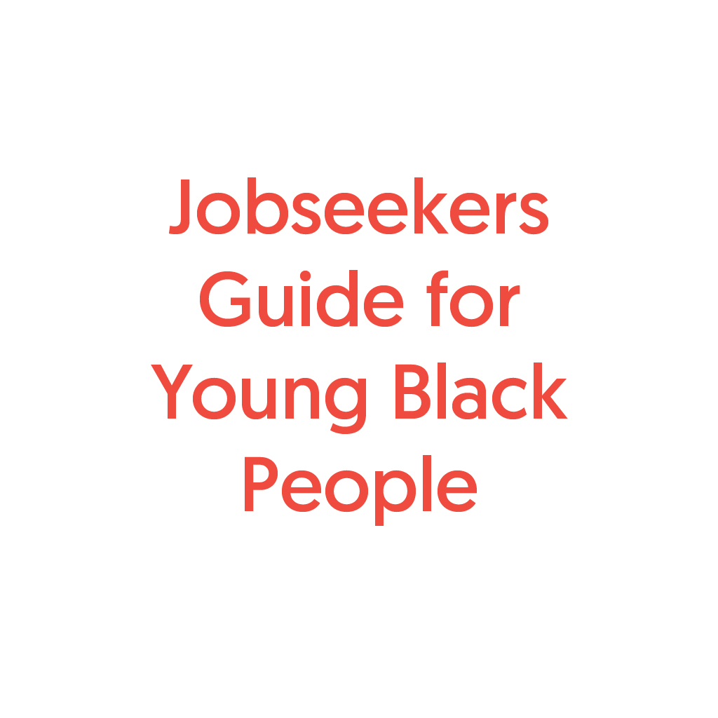 Communities Inc Job Seekers Guide for Young Black People project