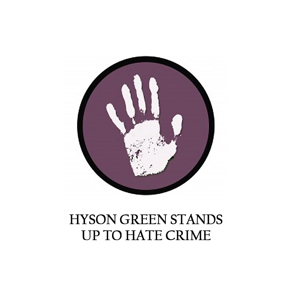 Hyson Green Stands Up to Hate Crime Project by Communities Inc