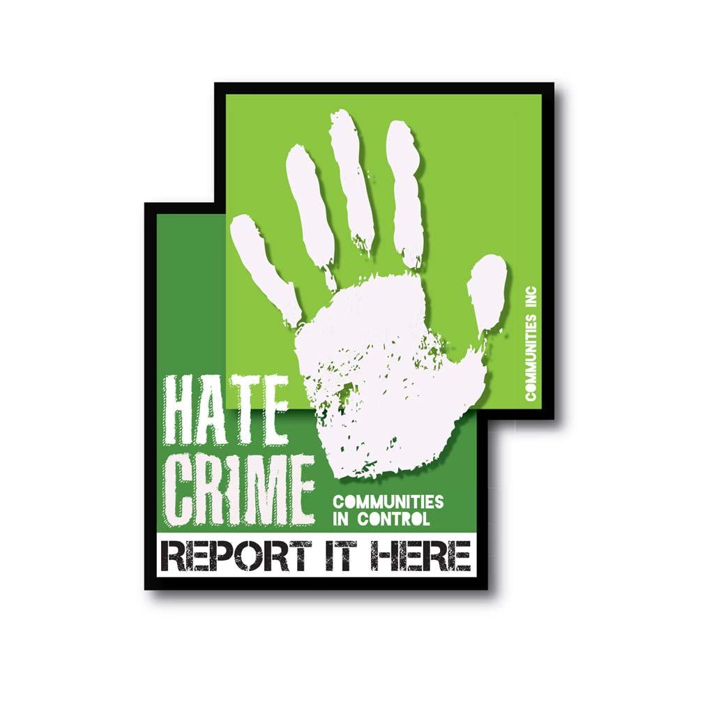 Communities Inc Hate Crime Communities in Control Project logo