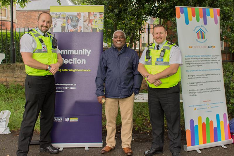 Communities Inc at Picnic in the Park in Lenton