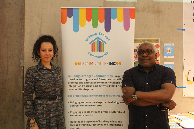 Communities Inc at the Refugee Week Launch 2016
