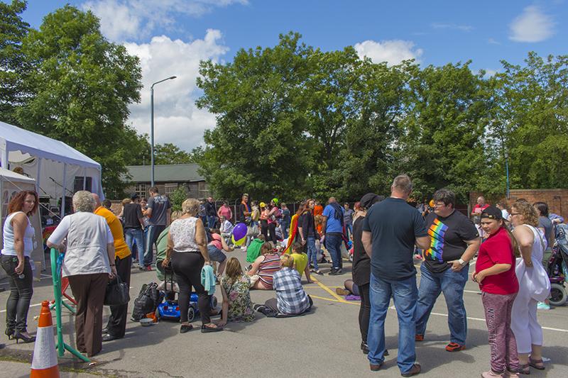 Communities Inc at Worksop Pride 2016