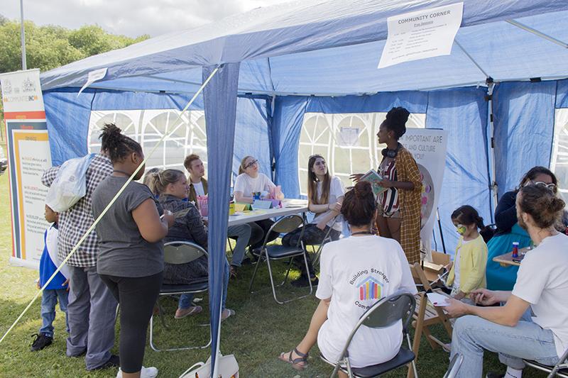 Communities Inc. at Hyson Green Cultural Festival 2016