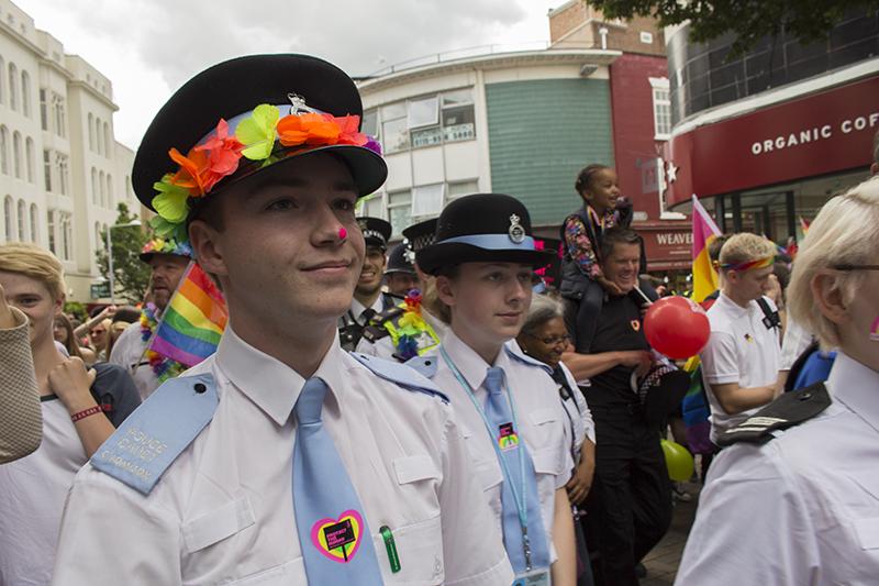 Communities Inc at Nottingham Pride 2016