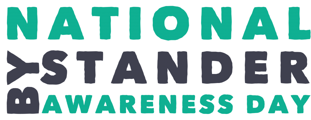 National Bystander Awareness Day Logo organised by Communities Inc