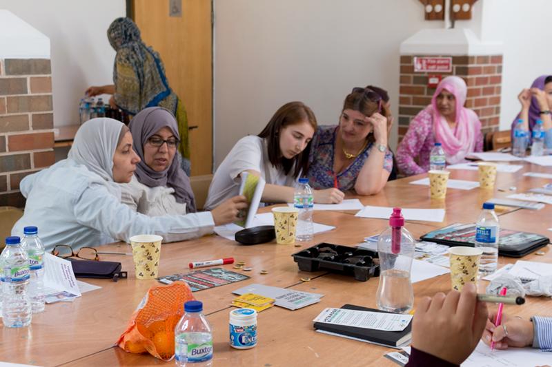Nottingham Muslim Women's Network Stand by Me Ambassadors