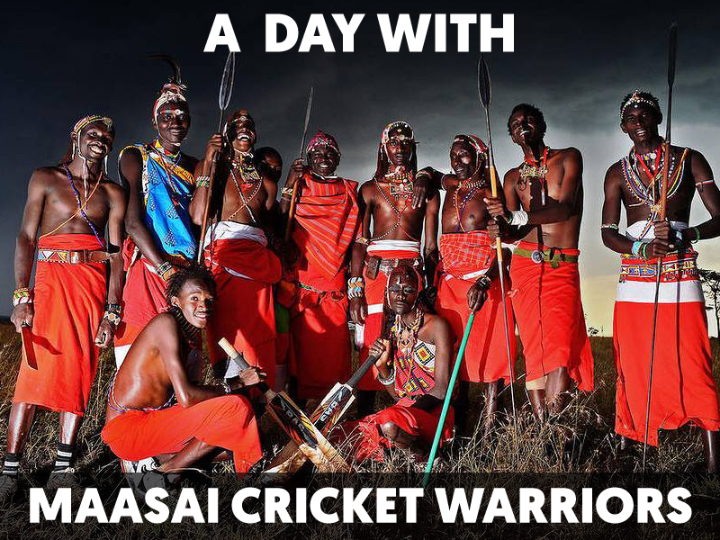 A day with Maasai Cricket Warriors by Communities Inc and Mojatu Foundation