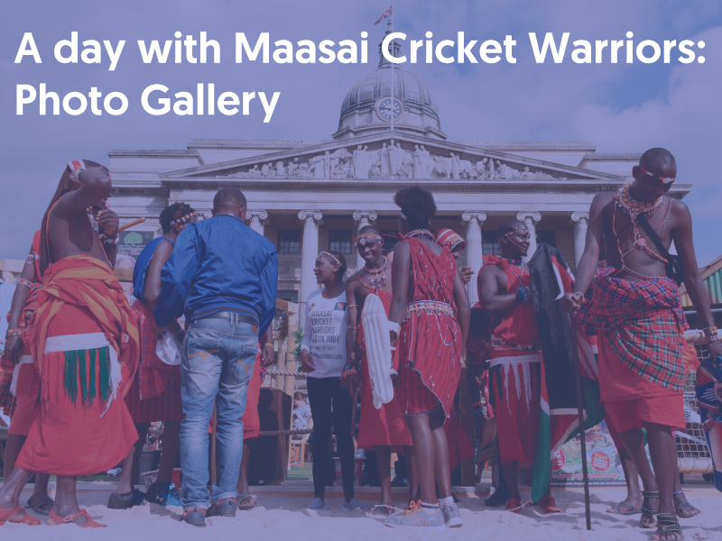 A day with Maasai Cricket Warriors photo gallery