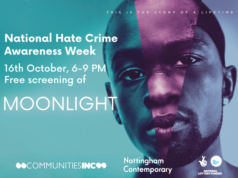 Free Screening of Moonlight National Hate Crime Awareness Week