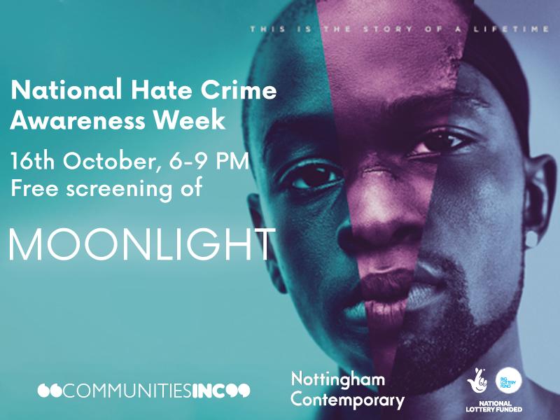 Free Screening of Moonlight National Hate Crime Awareness Week